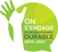 Logo On s'engage en développement durable