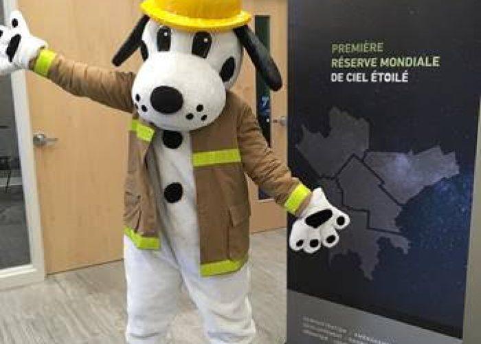 mascotte sécurité incendie