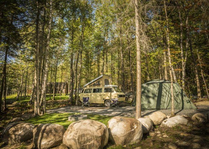 site de 2 services camping aventure