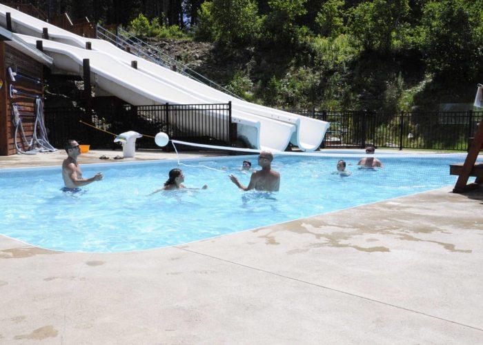 volleyball piscine